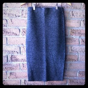 ICONE | Fall grey pencil skirt
